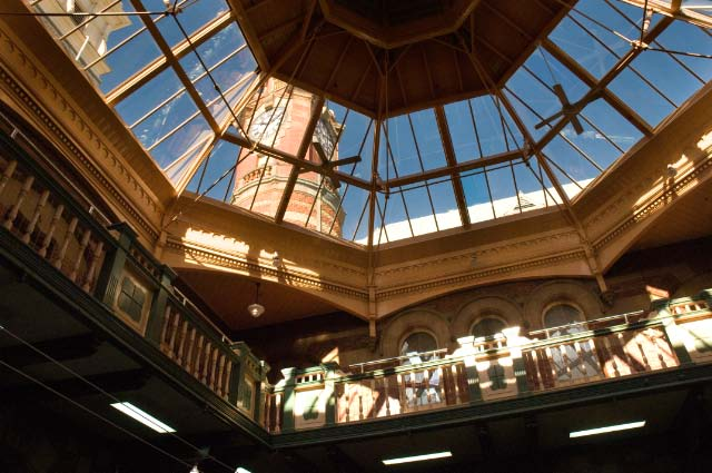 Interior of the Launceston GPO